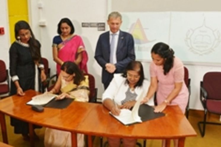 Launching 2nd batch of Certificate in Tour Guiding and signing of MoU