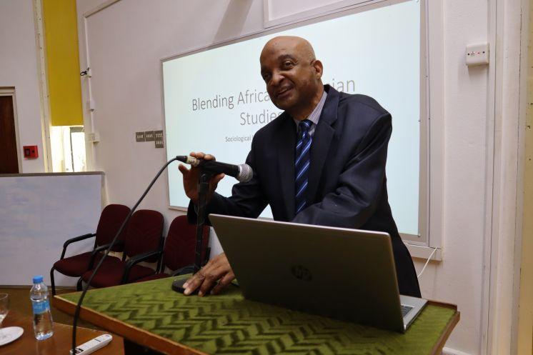 Talk by Professor John H Stanfield II